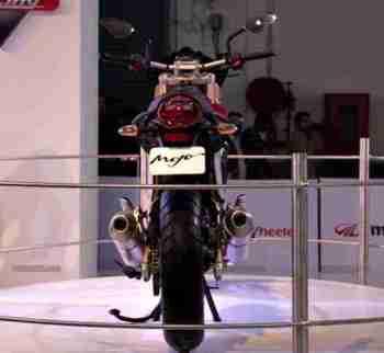 Mahindra 2 wheelers Auto Expo 2012 India 04