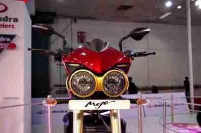 Mahindra 2 wheelers Auto Expo 2012 India 16