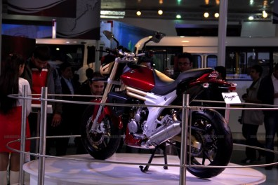 Mahindra 2 wheelers Auto Expo 2012 India 19