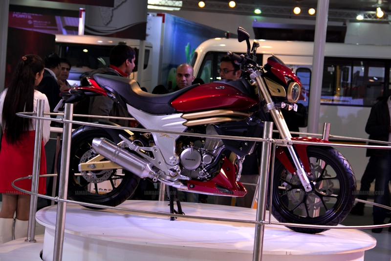 Mahindra 2 wheelers Auto Expo 2012 India 20