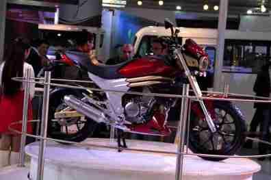 Mahindra 2 wheelers Auto Expo 2012 India 20