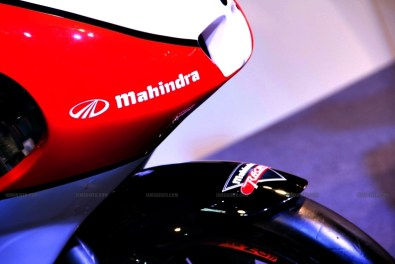 Mahindra 2 wheelers Auto Expo 2012 India 44