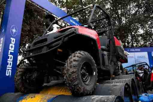 Polaris Auto Expo 2012 India 42