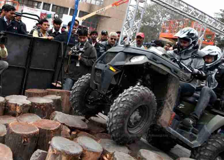 Polaris India Auto Expo 2012 01