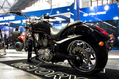 Polaris India Auto Expo 2012