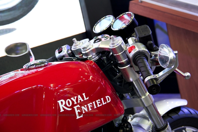 Royal Enfield Cafe Racer Auto Expo 2012