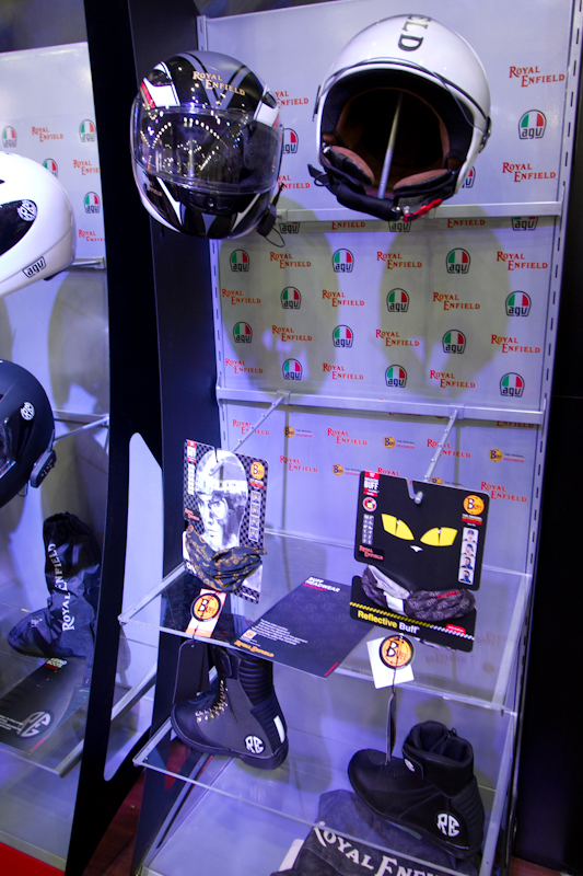 Royal Enfield Riding gears Auto Expo 2012 India -6
