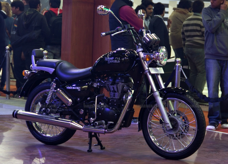 Thunderbird 500 Auto Expo 2012 India 07
