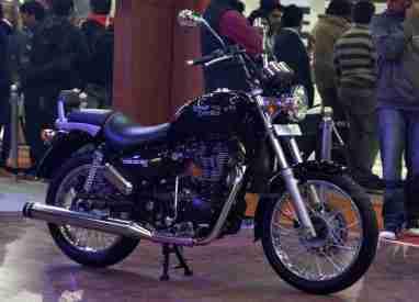 Thunderbird 500 Auto Expo 2012 India 07