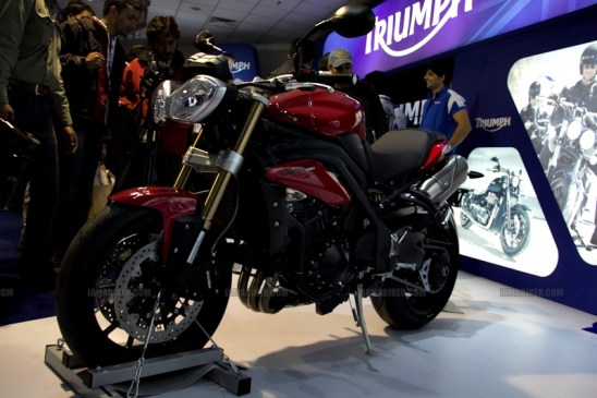 Triumph Motorcycles Auto Expo 2012 India 10
