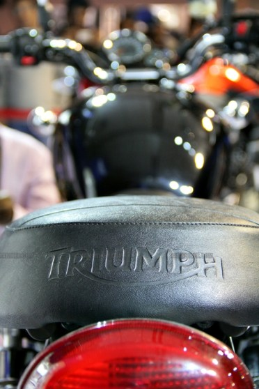 Triumph Motorcycles Auto Expo 2012 India 20