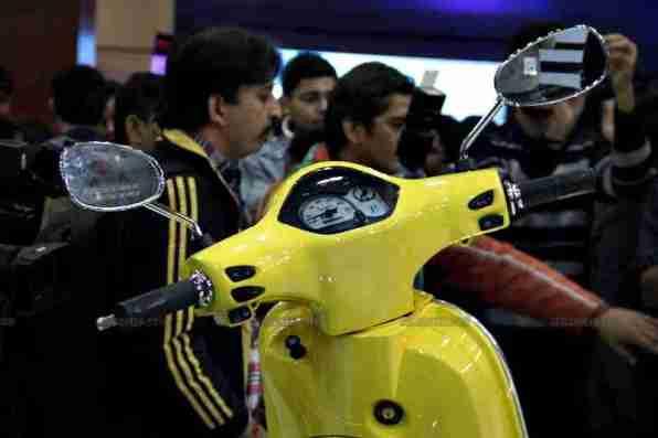 Vespa - Piaggio Auto Expo 2012 India 42
