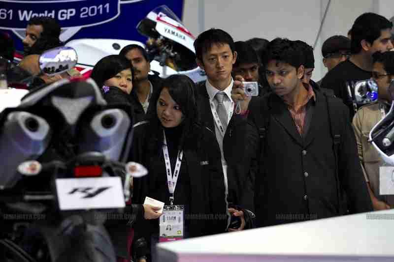 Yamaha Auto Expo 2012 India 08