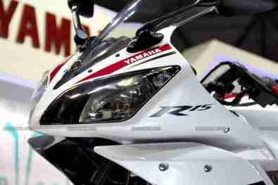 Yamaha R15 V 2.0 50th Anniversary edition Auto Expo 2012 India 27