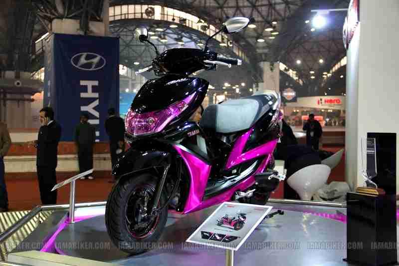 Yamaha Ray Auto Expo Delhi