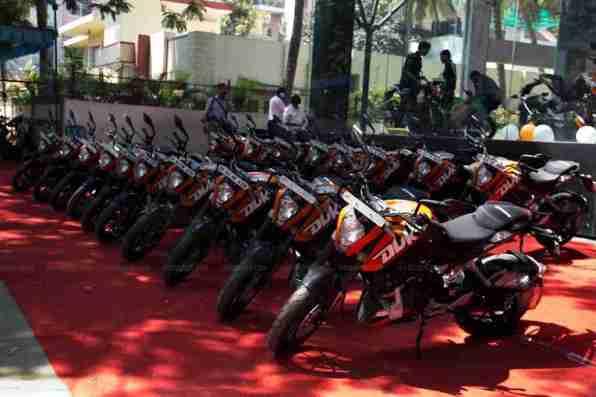 KTM Duke 200 Bangalore launch 01