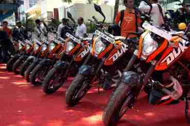 KTM Duke 200 Bangalore launch 03