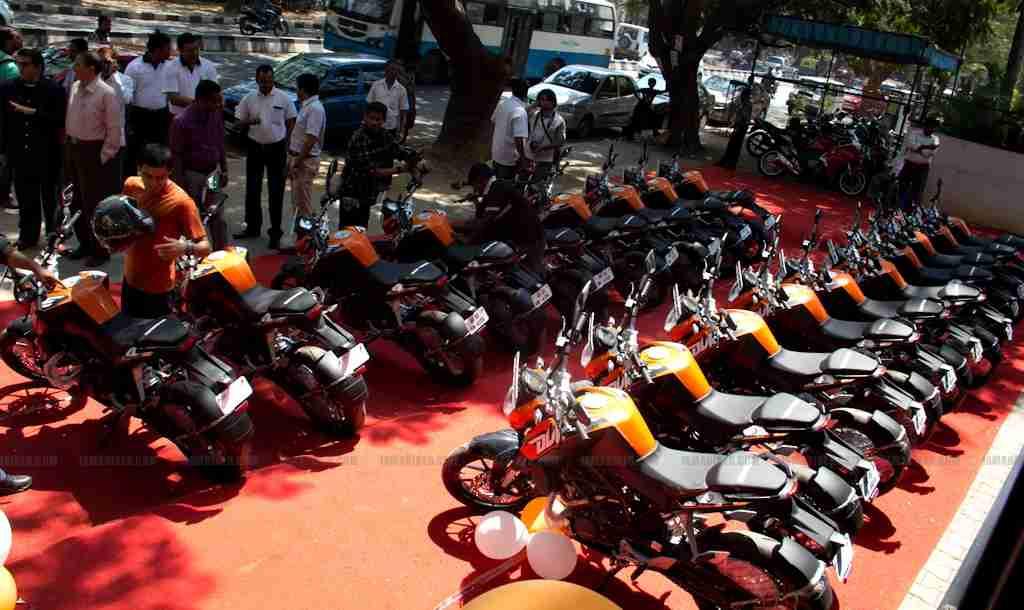 KTM Duke 200 Bangalore launch 06