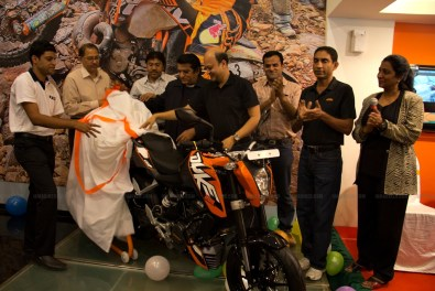 KTM Duke 200 Bangalore launch 19