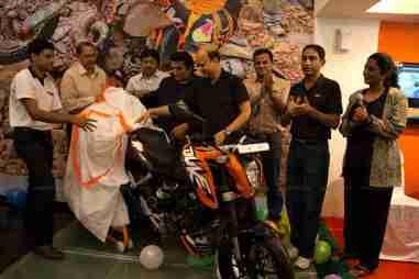 KTM Duke 200 Bangalore launch 19