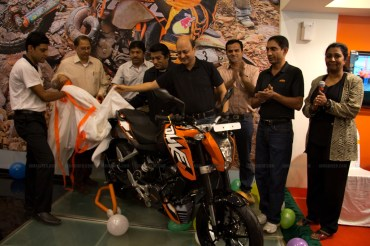 KTM Duke 200 Bangalore launch by Mr Amit Nandi