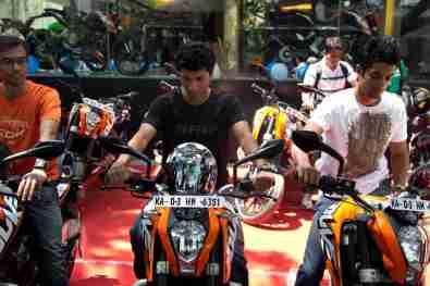 KTM Duke 200 Bangalore launch 28