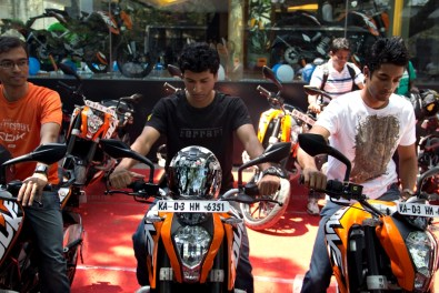 KTM Duke 200 Bangalore launch 28