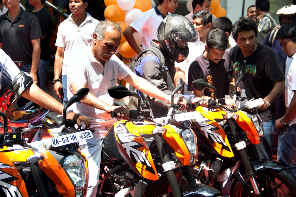 KTM Duke 200 Bangalore launch 32