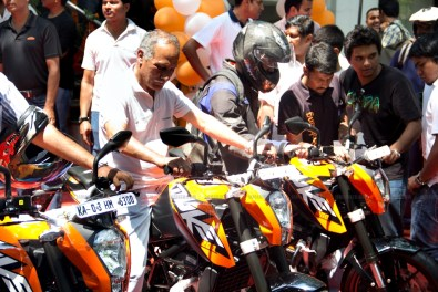KTM Duke 200 Bangalore launch 32