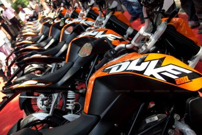 KTM Duke 200 Bangalore launch 37