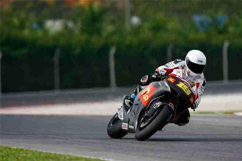 MotoG Sepang testing 2012 25