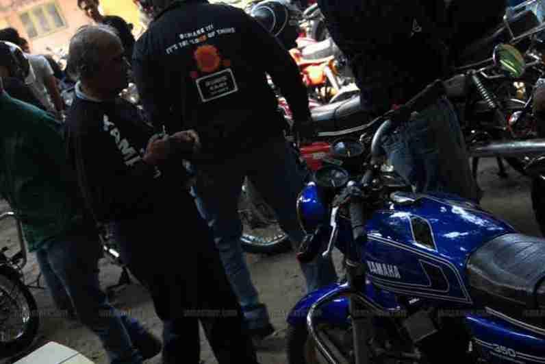 RD 350 club Bangalore 69