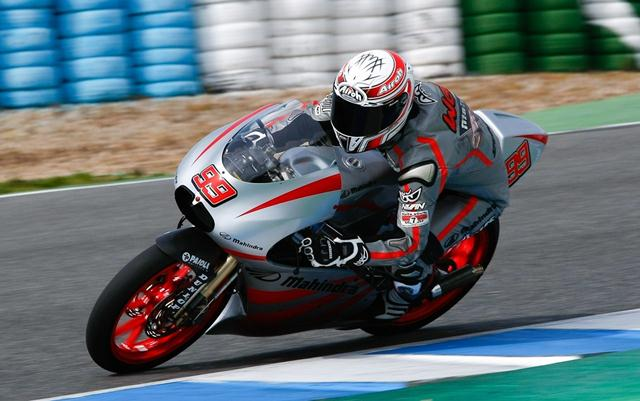 Successful Moto3 testing for Team Mahindra at Valencia