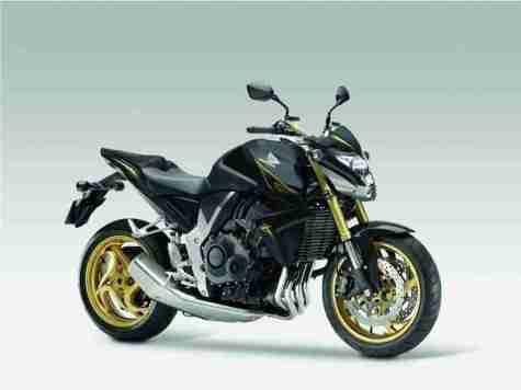 2012 Honda CB1000R - Matt Gray and Gold 01
