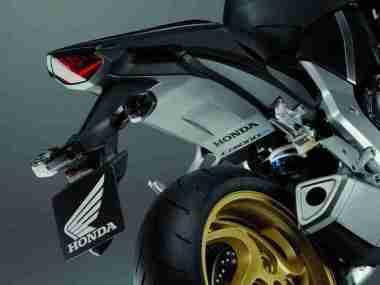 2012 Honda CB1000R - Matt Gray and Gold 07