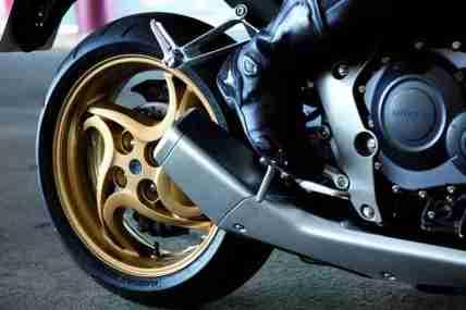 2012 Honda CB1000R - Matt Gray and Gold 10