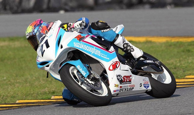 Elena Myers wins at Daytona Supersport race 2