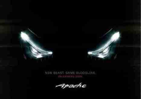 2012 tvs apache rtr teaser