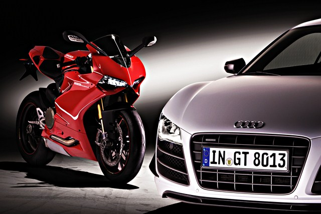 Audi takes over ducati- going after BMW