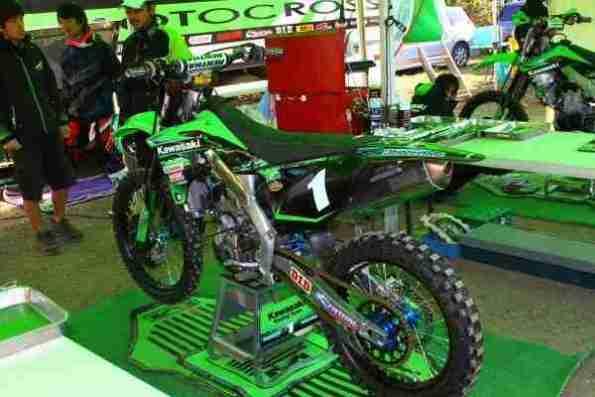 Kawasaki KX250F 2013 02