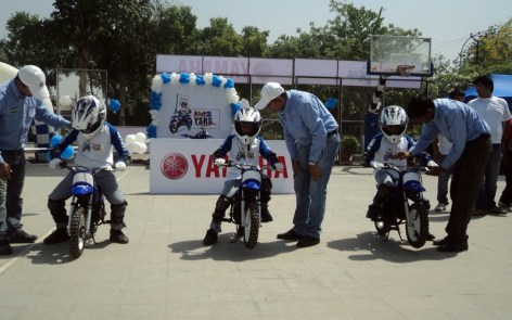 Kidz Yamaha Safe Riding Science of the year 01