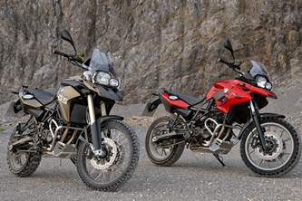 BMW F 700 GS and BMW F 800 GS for 2012