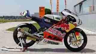 KTM Moto3 250 GPR production