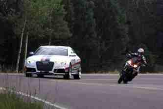 Audi Ducati Pikes Peak 2012