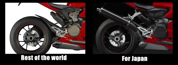 Ducati Panigale for Japan
