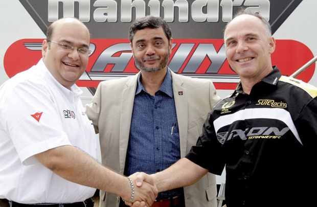 Mahindra Racing partners with Suter