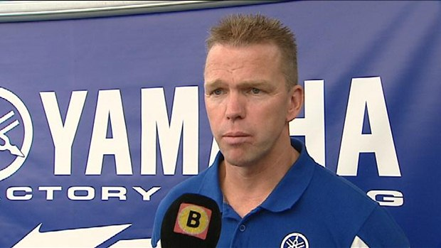 Frans Verhoeven with Yamaha for Dakar