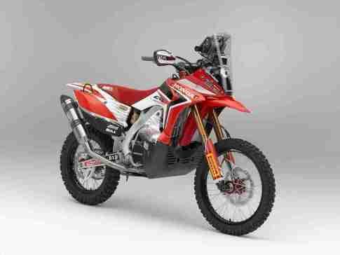 Honda CRF450 rally -1