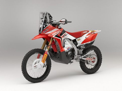 Honda CRF450 rally - 2