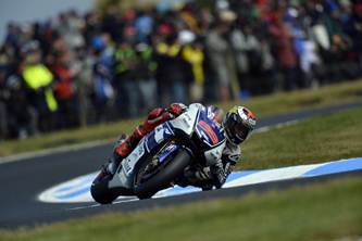 Yamaha MotoGP Philip Island qualifying report